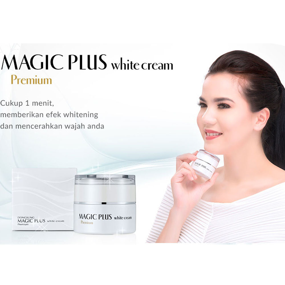 Harga Spesifikasi Magic Plus White Cream Premium