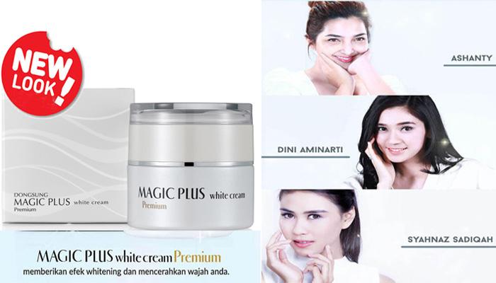 magic plus white cream